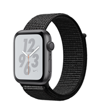 Apple Watch 4 GPS 44mm Nike+ Space Gray Aluminum Case with Black Nike Sport Loop Band